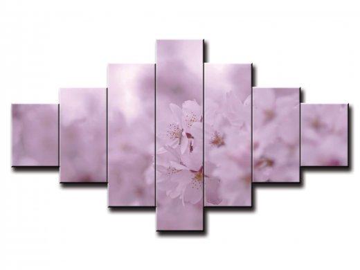 7 dielny obraz na stenu kvety na jar