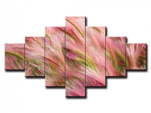 7 dielny obraz na stenu pšenica vo vetre