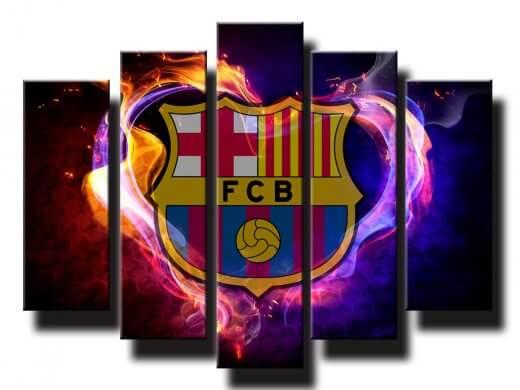 5 dielný obraz na stenu Barcelona