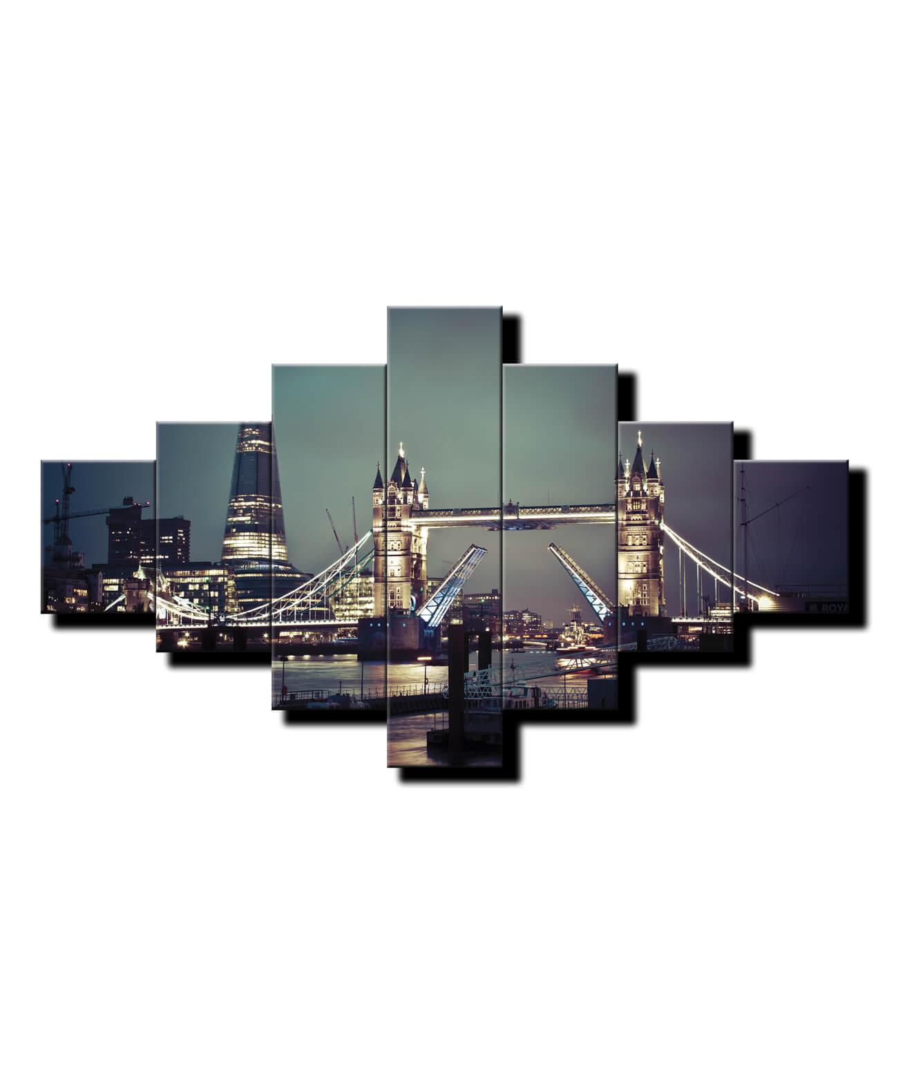 7 dielny obraz na stenu Tower Bridge Londýn